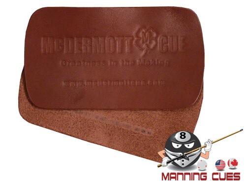 McDermott Brown Leather Burnishing Pad