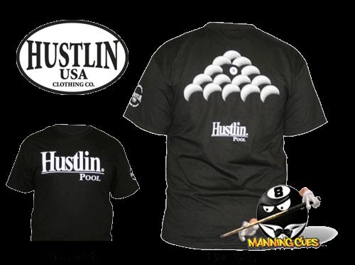 Hustlin 8 Ball Rack T-shirt - Black Mens