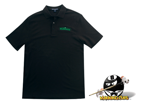 McDermott Port Authority Traditional Black Polo