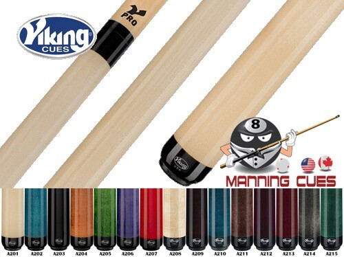 Viking No-Wrap V-Pro Pool Cues - 15 Colors