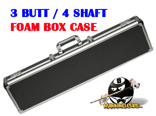 Action 3B/4S Black Box Case