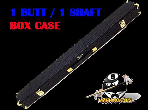 Schmelke 1B/1S Black Alligator Box Case