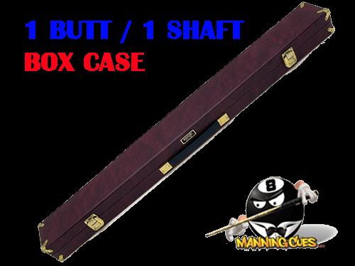 Schmelke 1B/1S Maroon Box Case