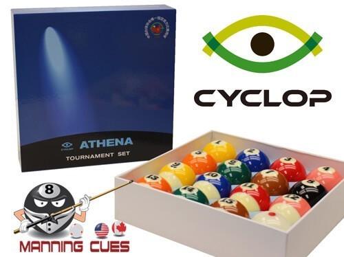 Cyclop Athena Tournament Pool Ball Set