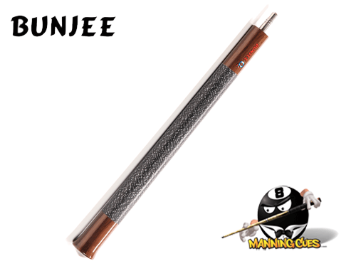 Bunjee Ebony with Wrap Jump Cue
