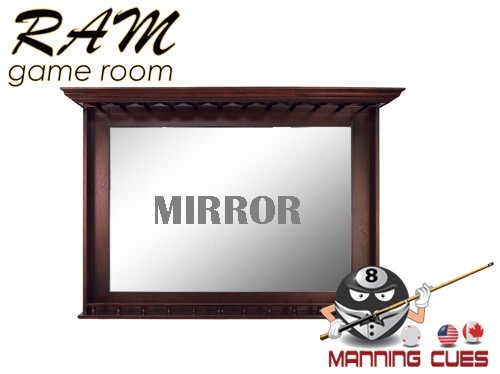 Bar Mirror Solid Wood - English Tudor