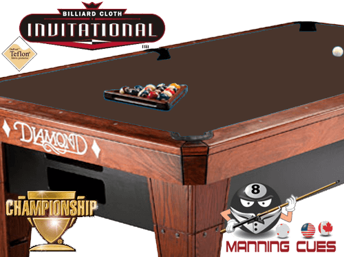 Championship Invitational Teflon Cloth - Brown