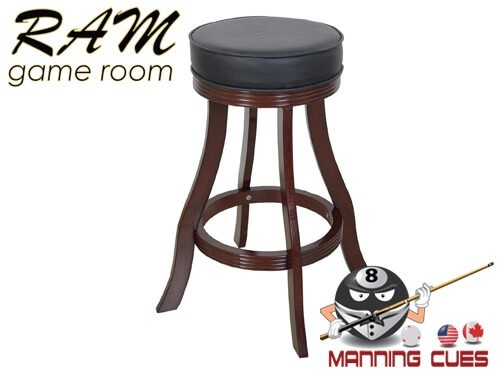 Bar stool padded vinyl seat - Cappuccino