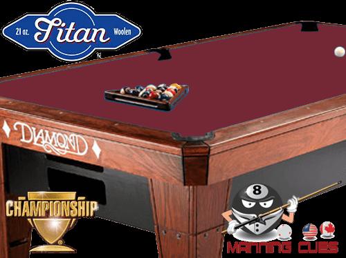 Championship Titan Cloth - Burgundy