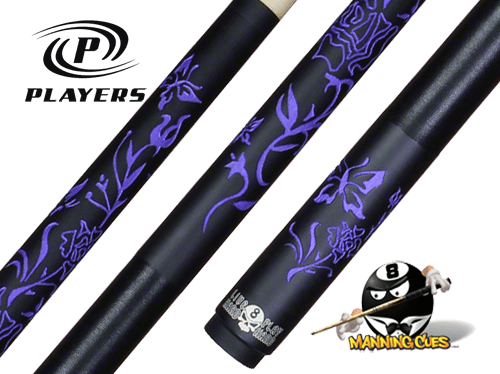 "Players D-LBF Laser Etched ""Purple Rose"""