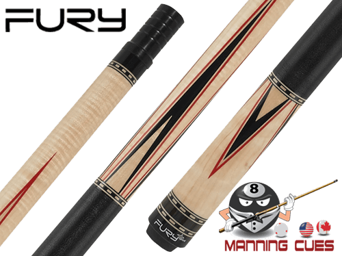 Fury FUCJX02 Curly Maple Pool Cue