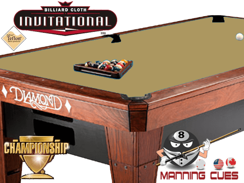 Championship Invitational Teflon Cloth - Golden
