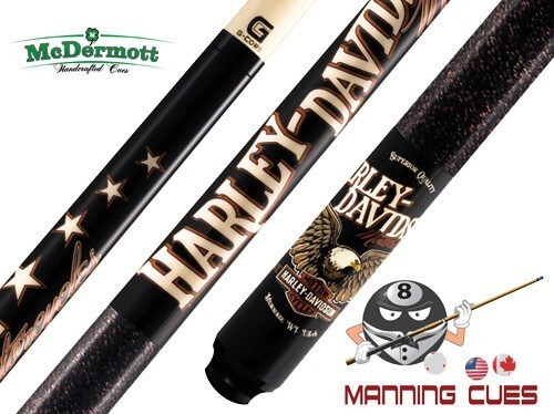 McDermott HD42 Harley Davidson Pool Cue