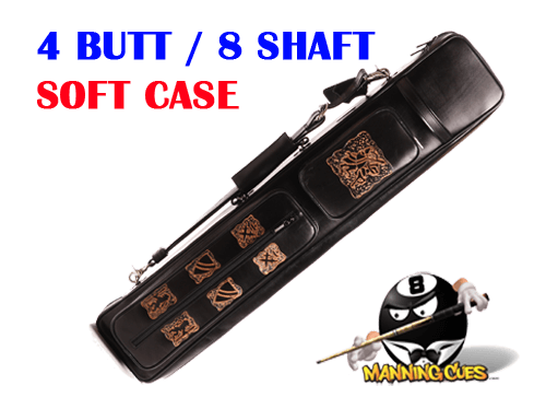 Instroke Soft Sided 4x8 GO2 Black Soft Case