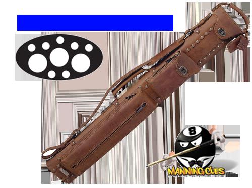 Instroke 3B/7S Leather Buffalo Cue Case