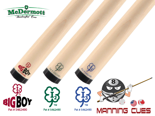 McDermott Intimidator Pool i-Shafts