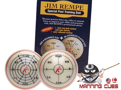 Jim Rempe Training Ball with Instructional Booklet