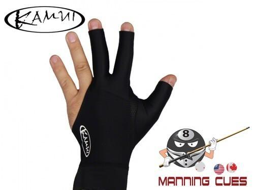 Kamui Black Billiard Glove For Left Hand