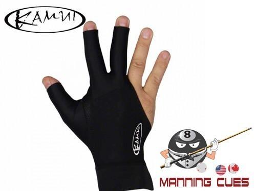 Kamui Black Billiard Glove For Right Hand