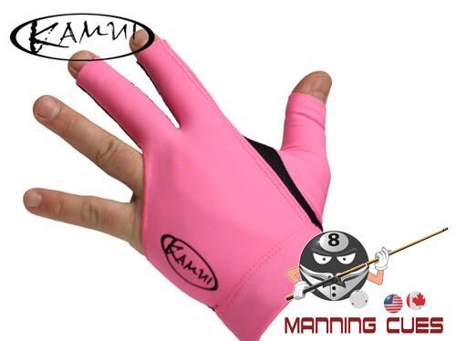 Kamui Pink Billiard Glove For Left Hand