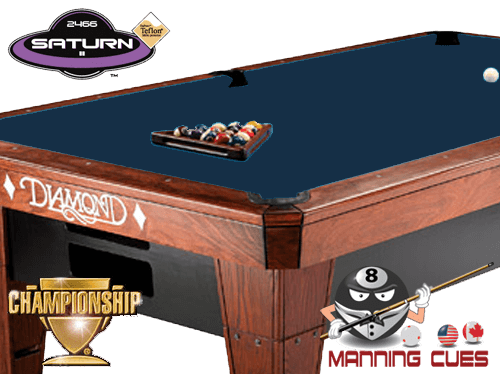 Championship Saturn Teflon Cloth - Navy