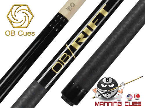 OB Rift Black Rubber Wrap Break Cue