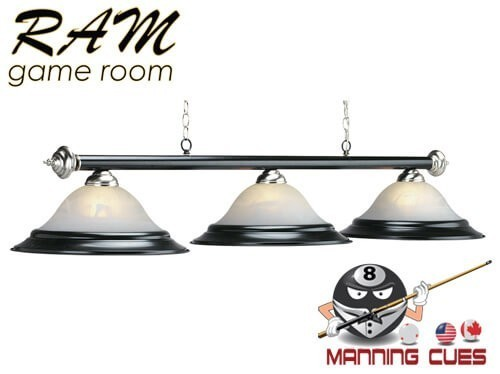 Matte black 3 light fixture