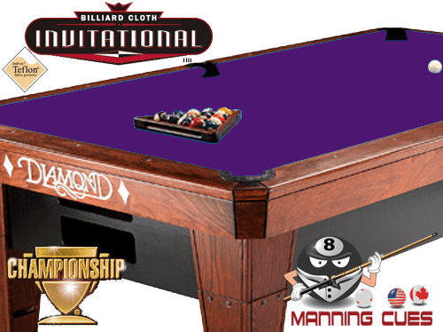 Championship Invitational Teflon Cloth - Purple