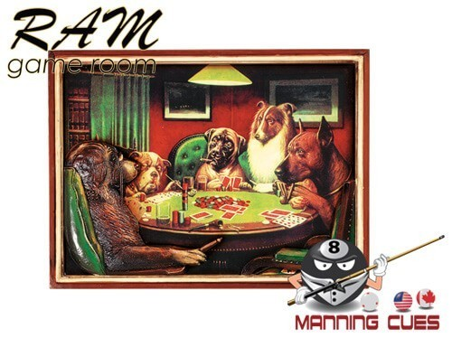 Poker Dogs - With Cigars