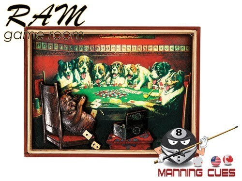 Poker Dogs - Card Under Table