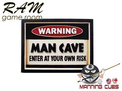 Warning - Man Cave