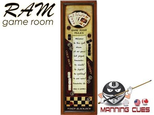 Gameroom Rules