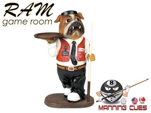 Bulldog Waiter Statue