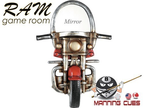 Motorcycle With Mirror