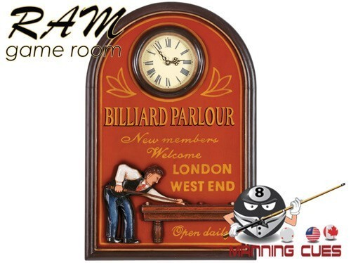 Billiard Parlour Clock