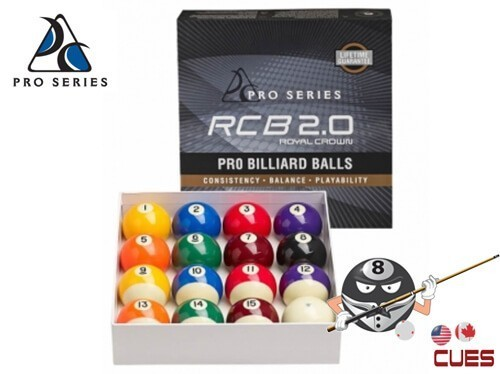 Pro Series RCB 2.0 Pro Pool Ball Set