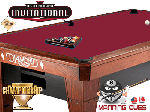 Championship Invitational Teflon Cloth - Red