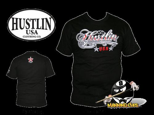 Hustlin Sexy T-shirt - Black Mens