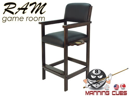 Spectator Chair Solid Wood - Black