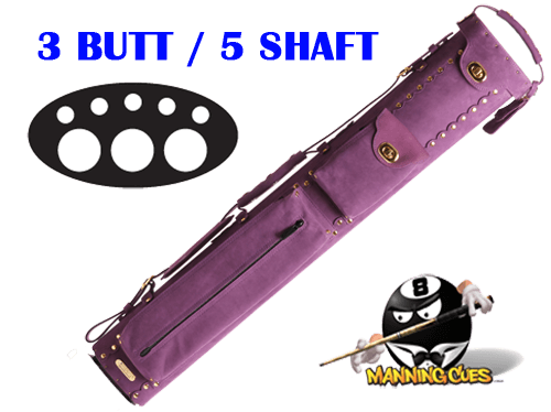 Instroke 3B/5S Custom Purple Baffalo Cue Case
