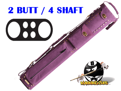 Instroke 2B/4S Custom Purple Baffalo Cue Case