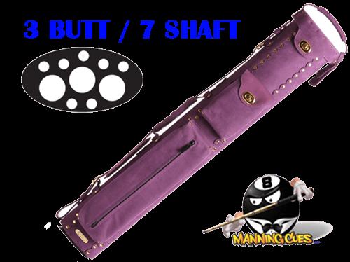 Instroke 3B/7S Custom Purple Baffalo Cue Case
