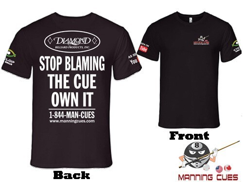 Stop Blaming The Cue Own It T-Shirt