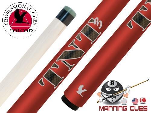 Falcon TNT3 Red Jump Cue