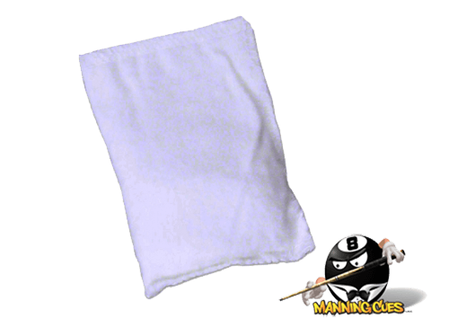 Cue Candy Large Talc Hand Powder Bag
