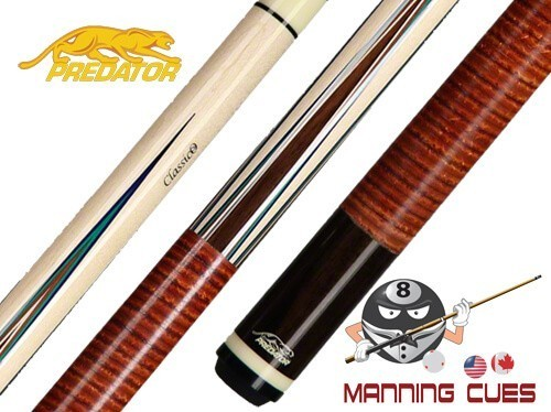 Predator Classico Limited Edition Pool Cue - Brown Stacked Leather