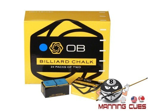 OB Blue Pool Chalk - 24 Boxes of 2