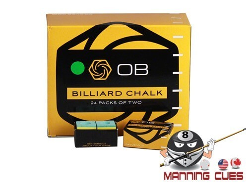 OB Green Pool Chalk - 24 Boxes of 2