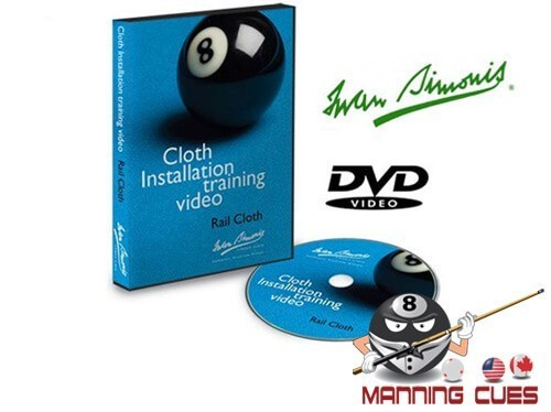 Simonis Rail Cloth Installation Training DVD