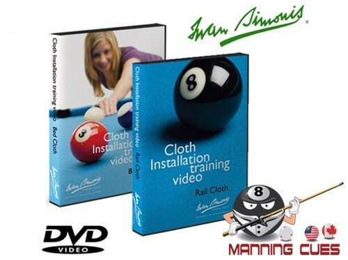 Simonis Rail & Bed Cloth Installation Training DVD